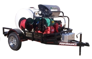 Picture of 8.5 GPM @ 3600 PSI Vanguard 35hp - Hot Water